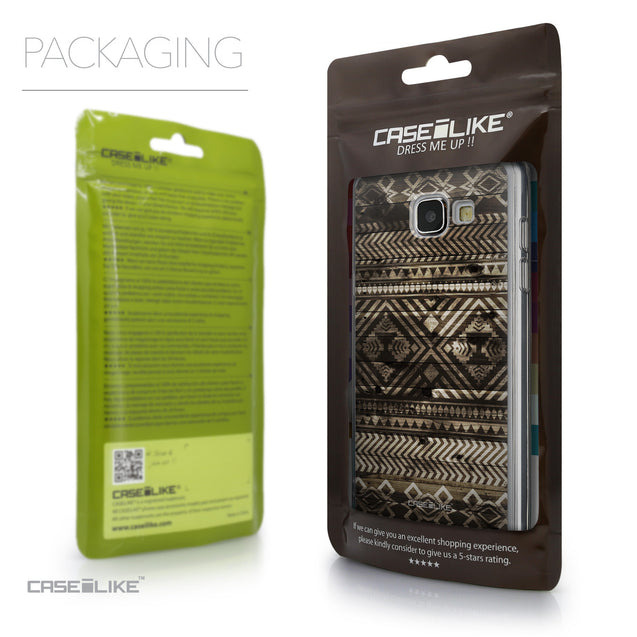 Packaging - CASEiLIKE Samsung Galaxy A5 (2016) back cover Indian Tribal Theme Pattern 2050