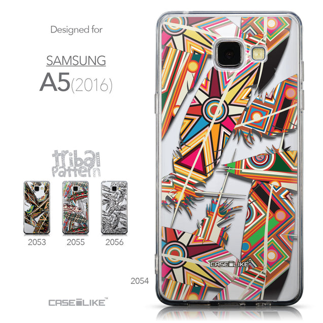 Collection - CASEiLIKE Samsung Galaxy A5 (2016) back cover Indian Tribal Theme Pattern 2054