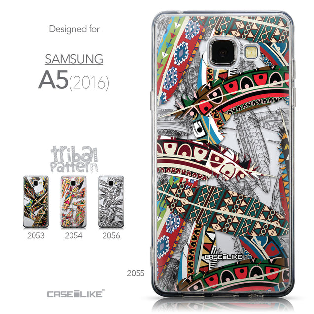 Collection - CASEiLIKE Samsung Galaxy A5 (2016) back cover Indian Tribal Theme Pattern 2055