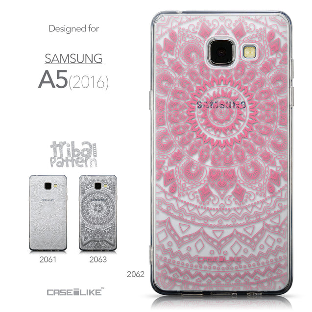 Collection - CASEiLIKE Samsung Galaxy A5 (2016) back cover Indian Line Art 2062