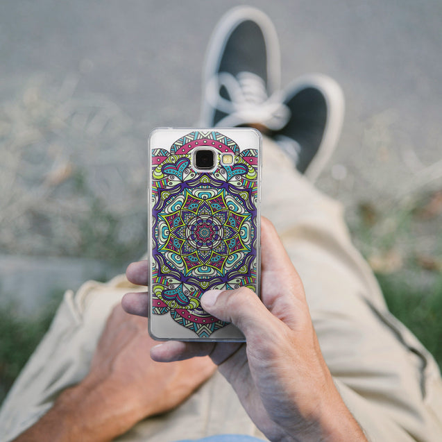 Share - CASEiLIKE Samsung Galaxy A5 (2016) back cover Mandala Art 2094