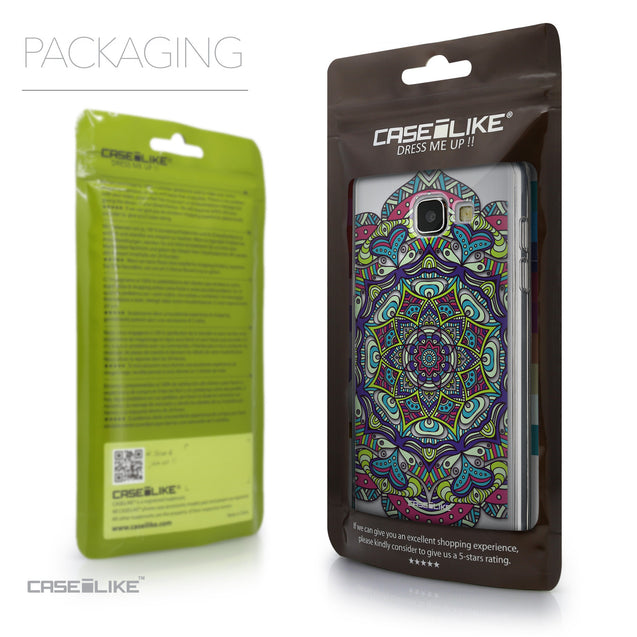 Packaging - CASEiLIKE Samsung Galaxy A5 (2016) back cover Mandala Art 2094