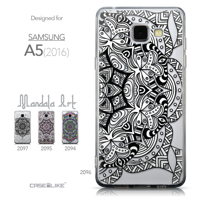 Collection - CASEiLIKE Samsung Galaxy A5 (2016) back cover Mandala Art 2096