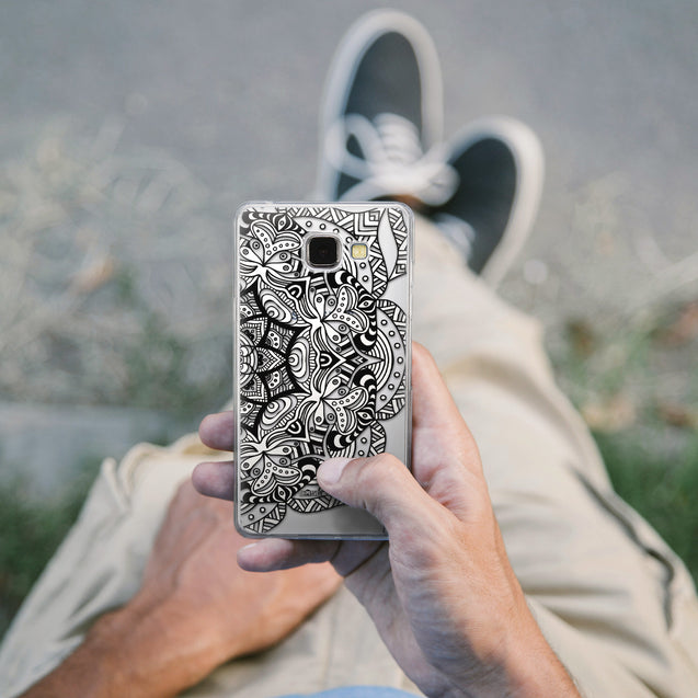 Share - CASEiLIKE Samsung Galaxy A5 (2016) back cover Mandala Art 2096