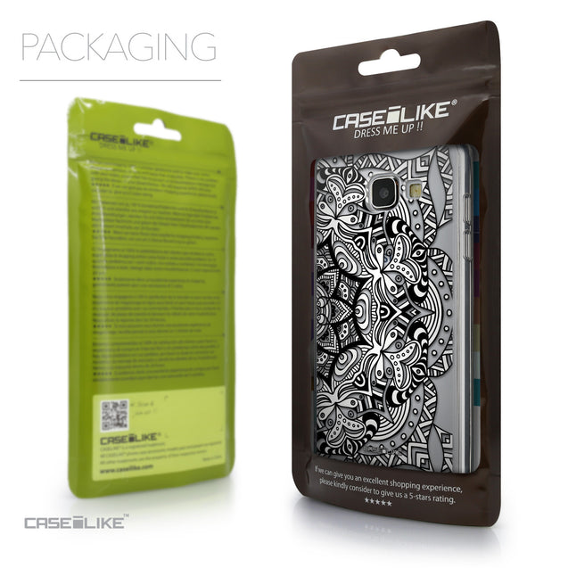 Packaging - CASEiLIKE Samsung Galaxy A5 (2016) back cover Mandala Art 2096