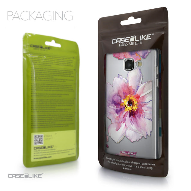 Packaging - CASEiLIKE Samsung Galaxy A5 (2016) back cover Watercolor Floral 2231