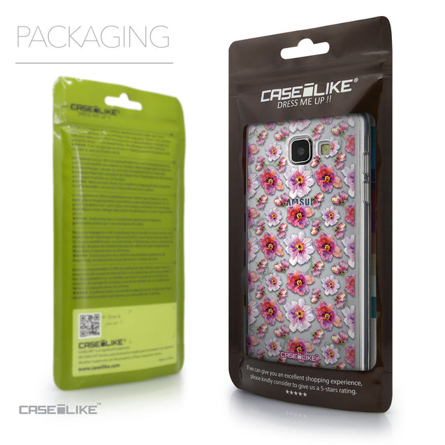 Packaging - CASEiLIKE Samsung Galaxy A5 (2016) back cover Watercolor Floral 2232
