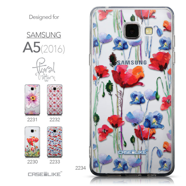 Collection - CASEiLIKE Samsung Galaxy A5 (2016) back cover Indian Line Art 2061