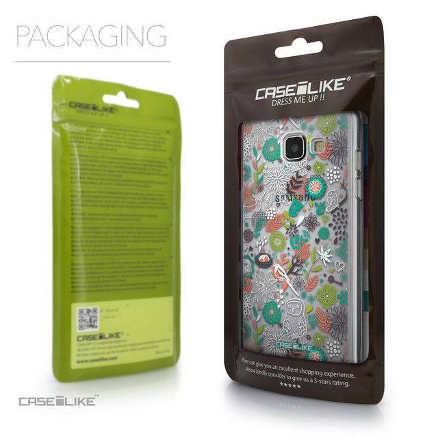 Packaging - CASEiLIKE Samsung Galaxy A5 (2016) back cover Spring Forest White 2241