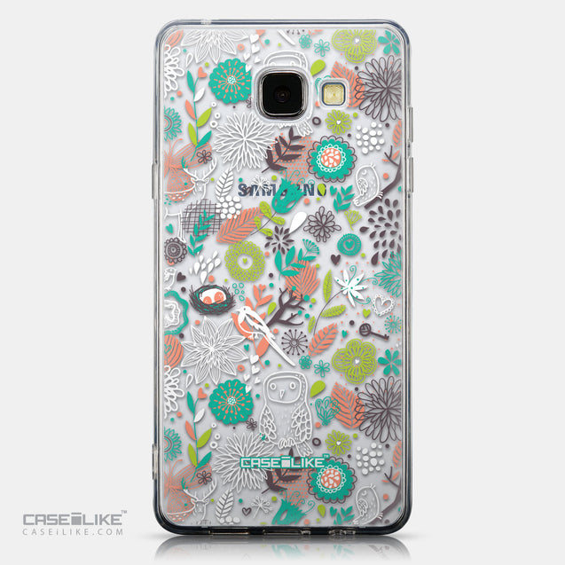 CASEiLIKE Samsung Galaxy A5 (2016) back cover Spring Forest White 2241
