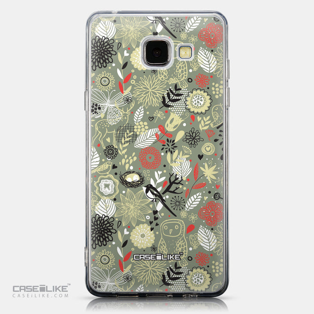 CASEiLIKE Samsung Galaxy A5 (2016) back cover Spring Forest Gray 2243