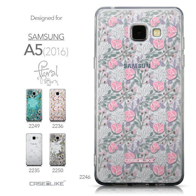 Collection - CASEiLIKE Samsung Galaxy A5 (2016) back cover Flowers Herbs 2246