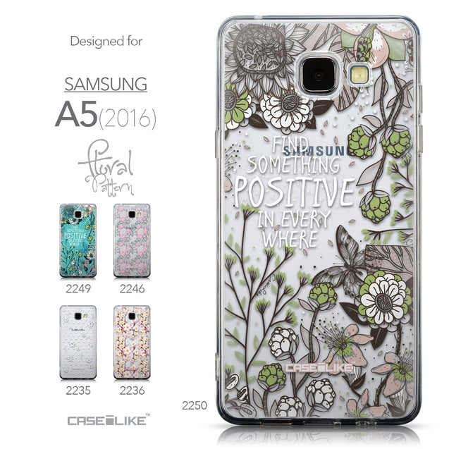 Collection - CASEiLIKE Samsung Galaxy A5 (2016) back cover Blooming Flowers 2250