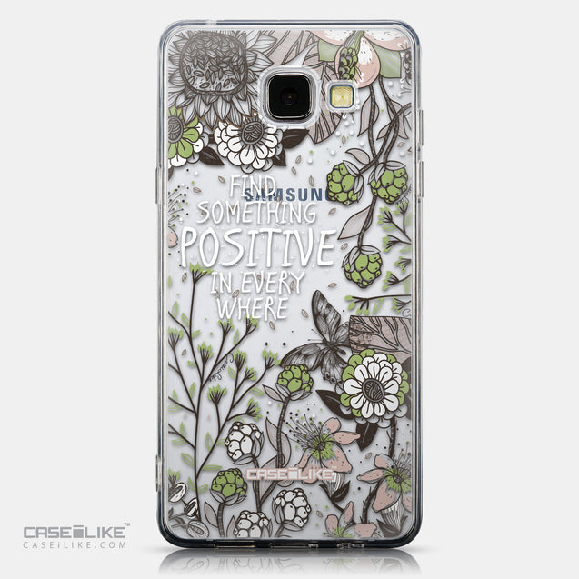 CASEiLIKE Samsung Galaxy A5 (2016) back cover Blooming Flowers 2250