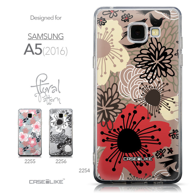 Collection - CASEiLIKE Samsung Galaxy A5 (2016) back cover Japanese Floral 2254