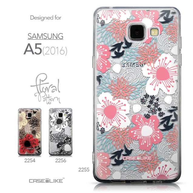 Collection - CASEiLIKE Samsung Galaxy A5 (2016) back cover Japanese Floral 2255