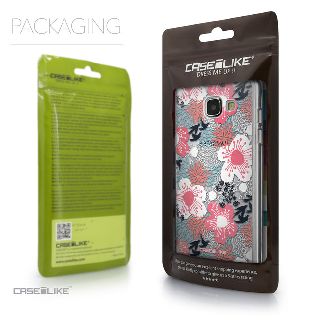 Packaging - CASEiLIKE Samsung Galaxy A5 (2016) back cover Japanese Floral 2255
