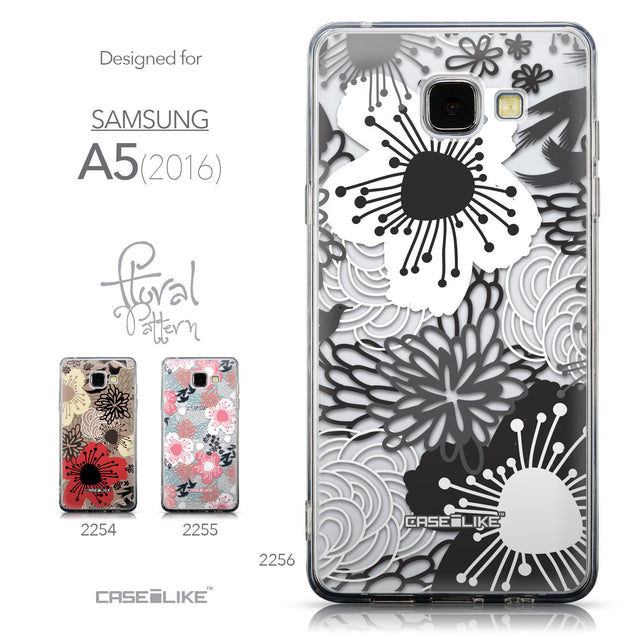 Collection - CASEiLIKE Samsung Galaxy A5 (2016) back cover Japanese Floral 2256