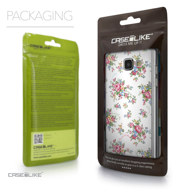 Packaging - CASEiLIKE Samsung Galaxy A5 (2016) back cover Floral Rose Classic 2260