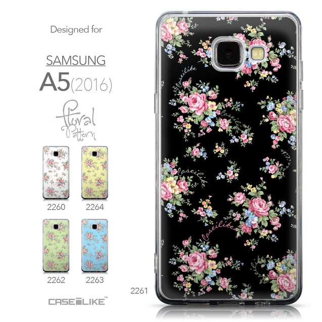 Collection - CASEiLIKE Samsung Galaxy A5 (2016) back cover Floral Rose Classic 2261