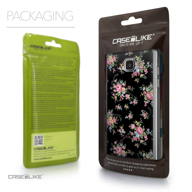Packaging - CASEiLIKE Samsung Galaxy A5 (2016) back cover Floral Rose Classic 2261