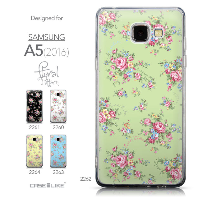 Collection - CASEiLIKE Samsung Galaxy A5 (2016) back cover Floral Rose Classic 2262