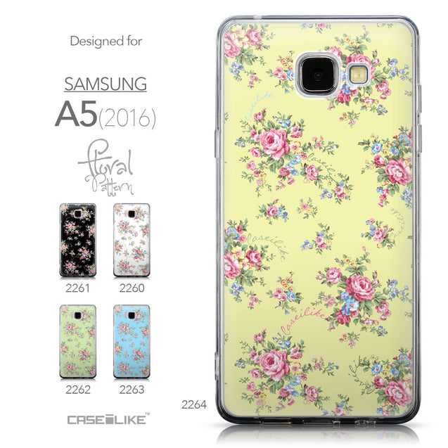Collection - CASEiLIKE Samsung Galaxy A5 (2016) back cover Floral Rose Classic 2264