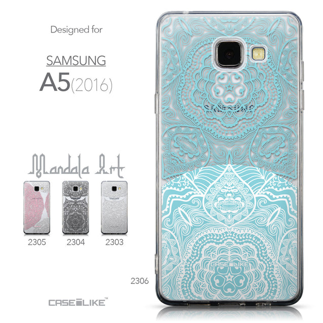 Collection - CASEiLIKE Samsung Galaxy A5 (2016) back cover Mandala Art 2306