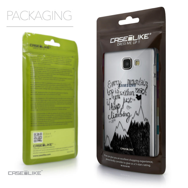 Packaging - CASEiLIKE Samsung Galaxy A5 (2016) back cover Indian Tribal Theme Pattern 2053