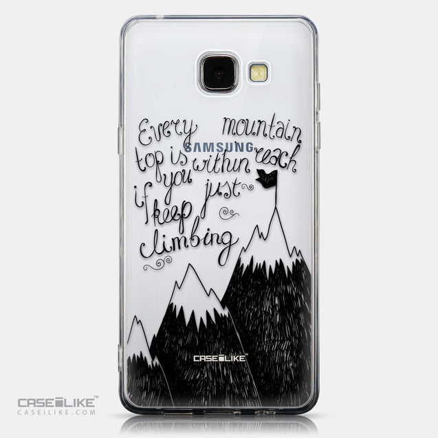 CASEiLIKE Samsung Galaxy A5 (2016) back cover Quote 2403