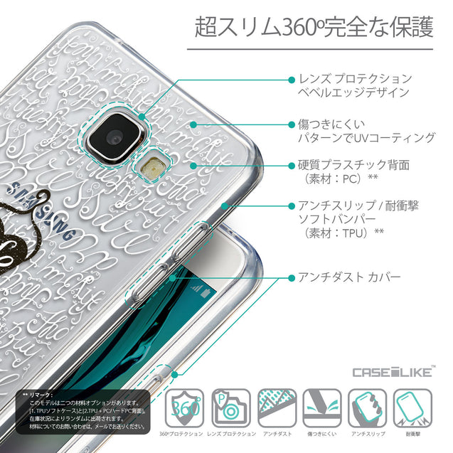Details in Japanese - CASEiLIKE Samsung Galaxy A5 (2016) back cover Indian Tribal Theme Pattern 2053