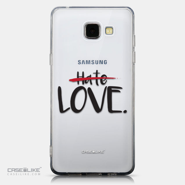 CASEiLIKE Samsung Galaxy A5 (2016) back cover Quote 2406