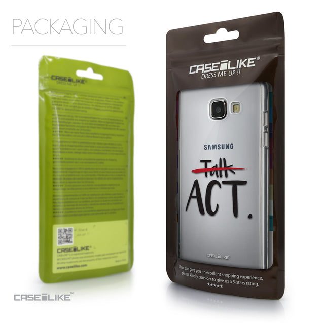 Packaging - CASEiLIKE Samsung Galaxy A5 (2016) back cover Quote 2408