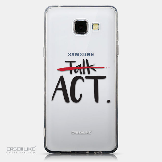 CASEiLIKE Samsung Galaxy A5 (2016) back cover Quote 2408