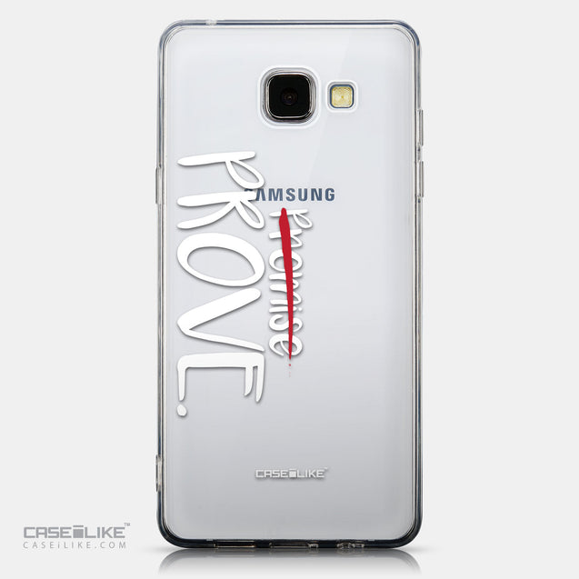 CASEiLIKE Samsung Galaxy A5 (2016) back cover Quote 2409