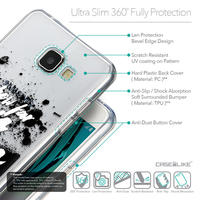 Details in English - CASEiLIKE Samsung Galaxy A5 (2016) back cover Quote 2413