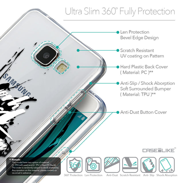 Details in English - CASEiLIKE Samsung Galaxy A5 (2016) back cover Quote 2414