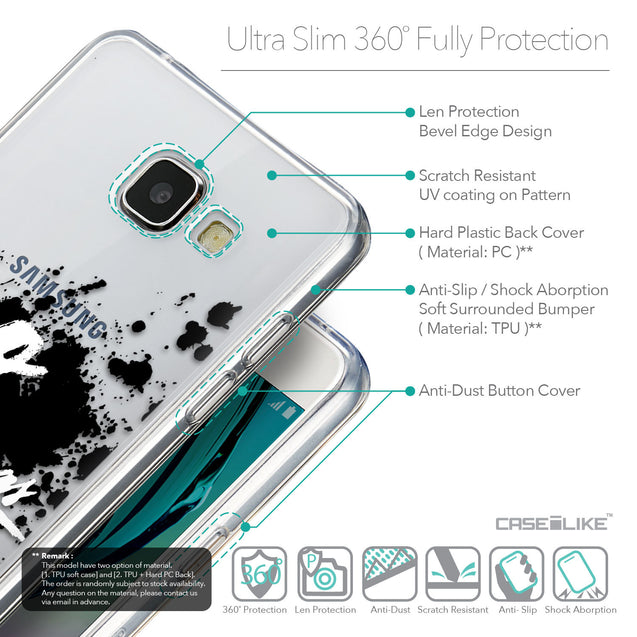 Details in English - CASEiLIKE Samsung Galaxy A5 (2016) back cover Quote 2415