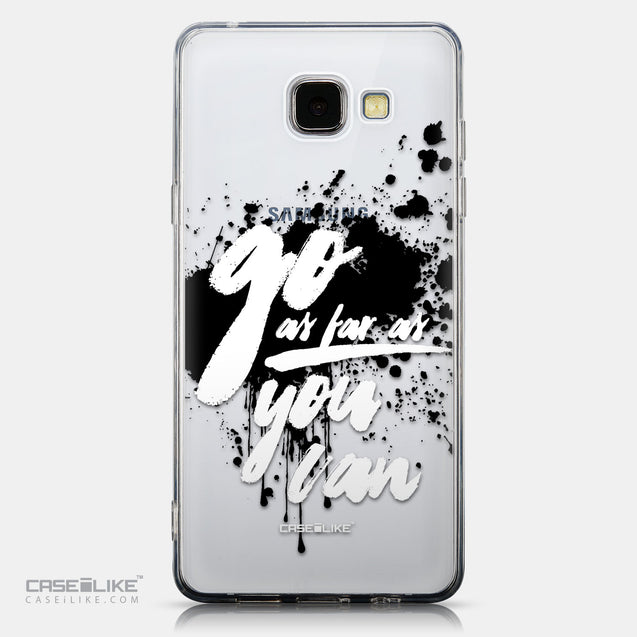 CASEiLIKE Samsung Galaxy A5 (2016) back cover Quote 2415