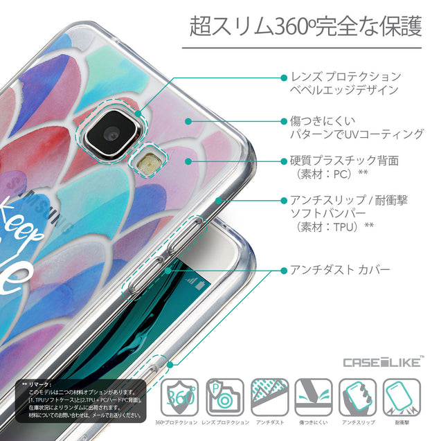 Details in Japanese - CASEiLIKE Samsung Galaxy A5 (2016) back cover Quote 2417
