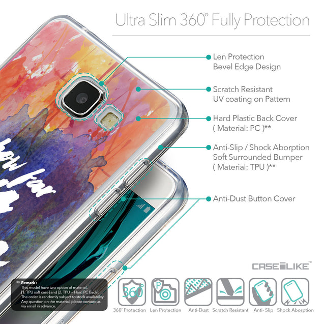 Details in English - CASEiLIKE Samsung Galaxy A5 (2016) back cover Quote 2421