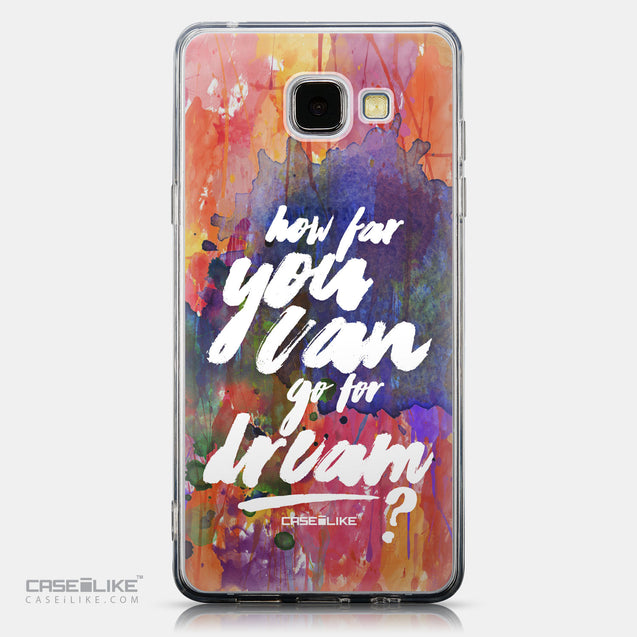CASEiLIKE Samsung Galaxy A5 (2016) back cover Quote 2421