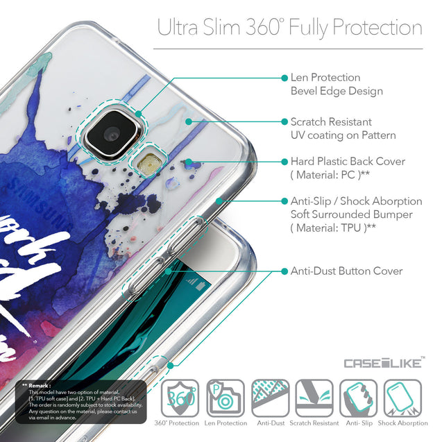 Details in English - CASEiLIKE Samsung Galaxy A5 (2016) back cover Quote 2422