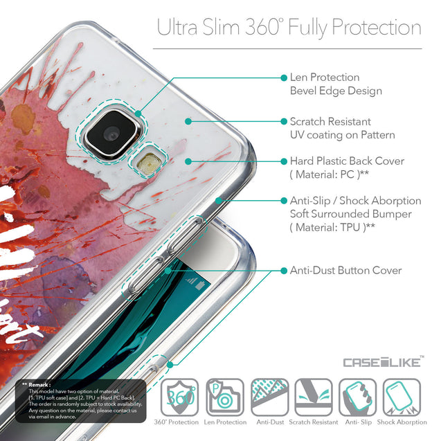 Details in English - CASEiLIKE Samsung Galaxy A5 (2016) back cover Quote 2423