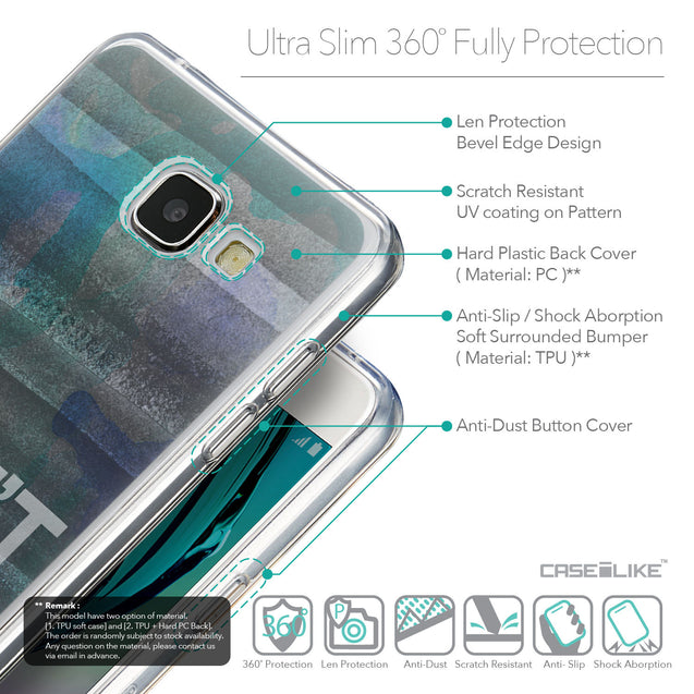 Details in English - CASEiLIKE Samsung Galaxy A5 (2016) back cover Quote 2431