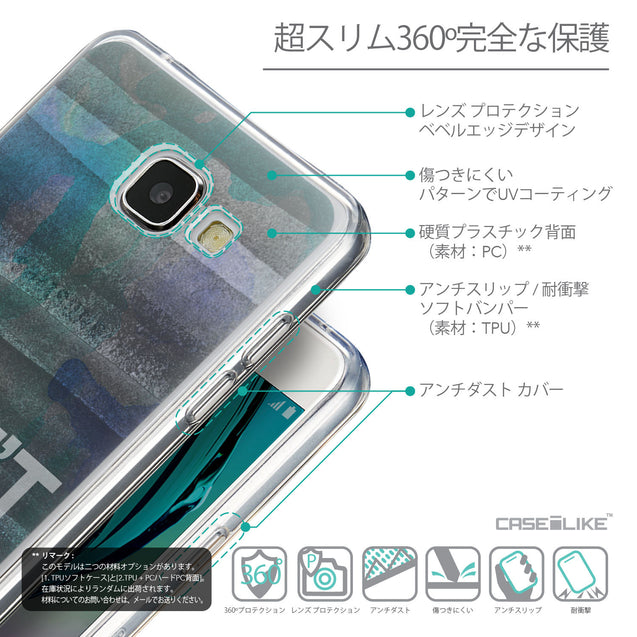 Details in Japanese - CASEiLIKE Samsung Galaxy A5 (2016) back cover Quote 2431