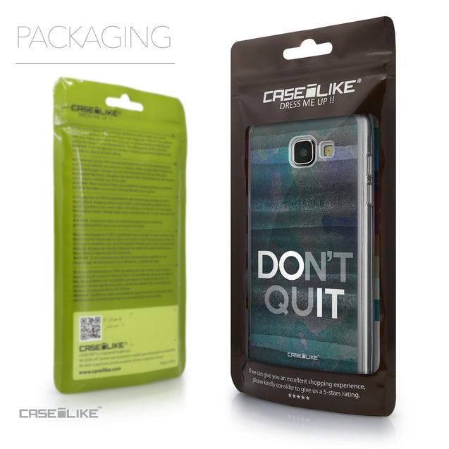 Packaging - CASEiLIKE Samsung Galaxy A5 (2016) back cover Quote 2431