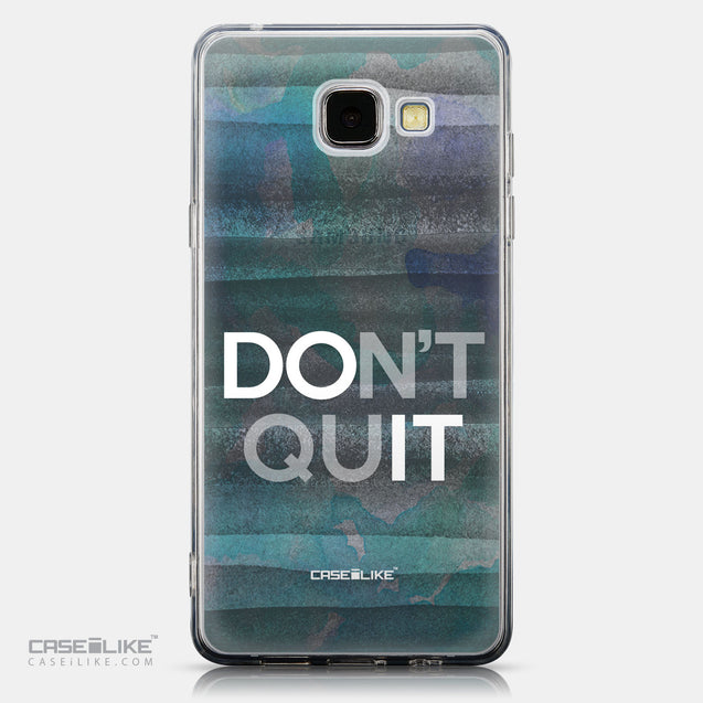 CASEiLIKE Samsung Galaxy A5 (2016) back cover Quote 2431