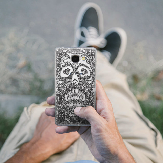 Share - CASEiLIKE Samsung Galaxy A5 (2016) back cover Art of Skull 2524