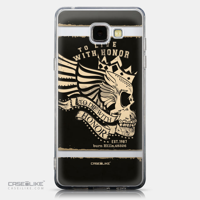 CASEiLIKE Samsung Galaxy A5 (2016) back cover Art of Skull 2529